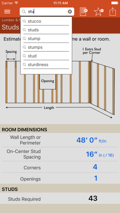 Home improvement calcs app report on mobile action for Apps for home remodeling