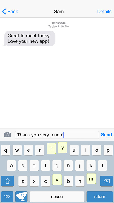 TextExpander 3 + custom keyboard Screenshots