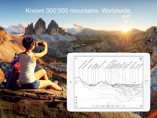 PeakFinder Earth Screenshots