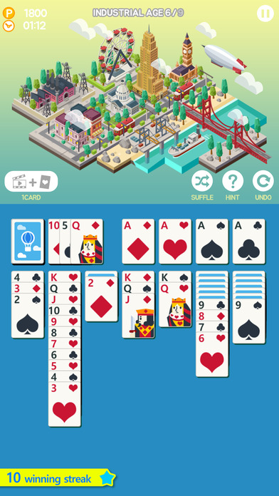 Age of Solitaire : Build City screenshot 1