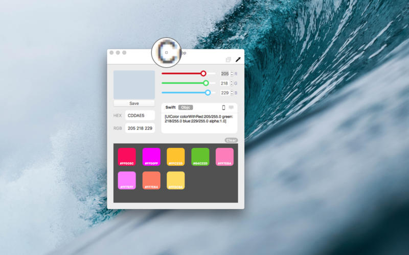 ColorDrop for Mac