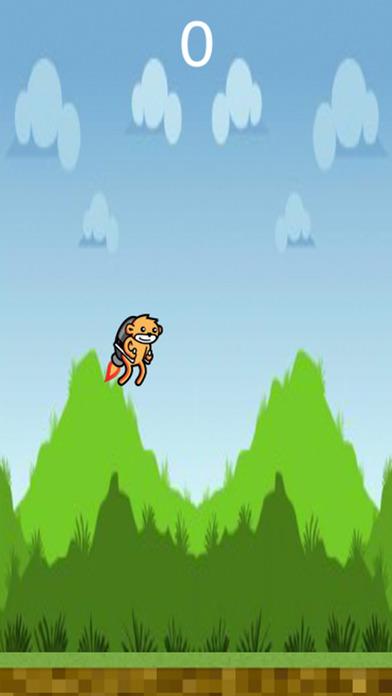 Jetpack Monkey Ad Free Screenshot 2