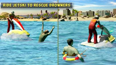 Summer Coast Guard 3D: Jet Ski Rescue Simulator screenshot