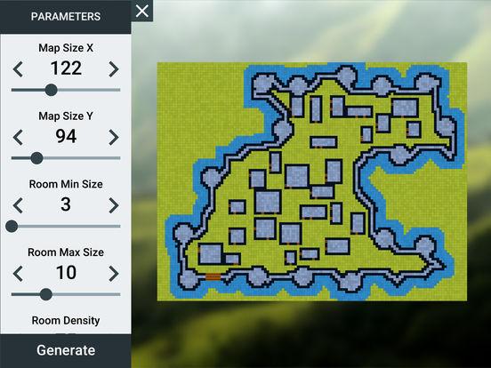ProD&D Dungeon Generator для iPad