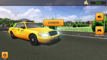 Taxi Simulator 2017: City Car Driving screenshot 4