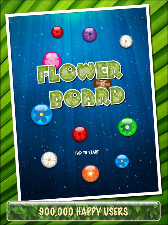 Screenshot #5 for Flower Board HD - A relaxing puzzle game