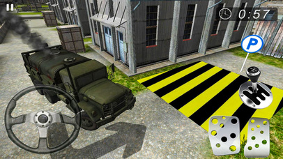 Army Base Camp Parking screenshot 1