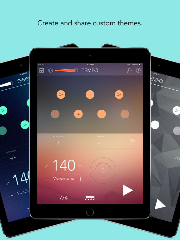 Tempo - Metronome with Setlists Screenshots
