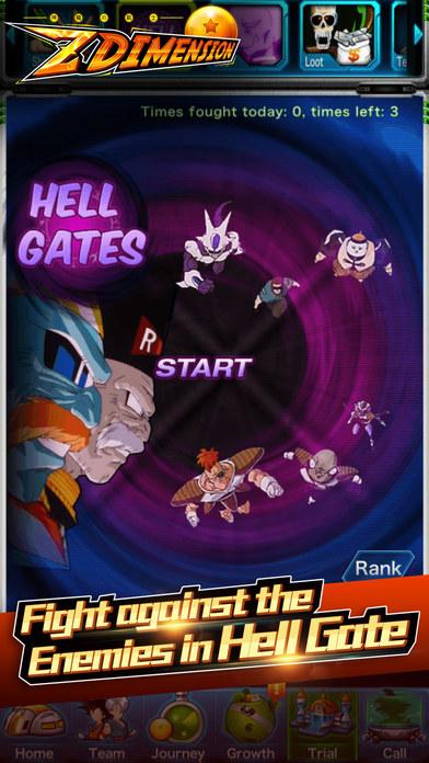 Z Dimension Saga screenshot 2