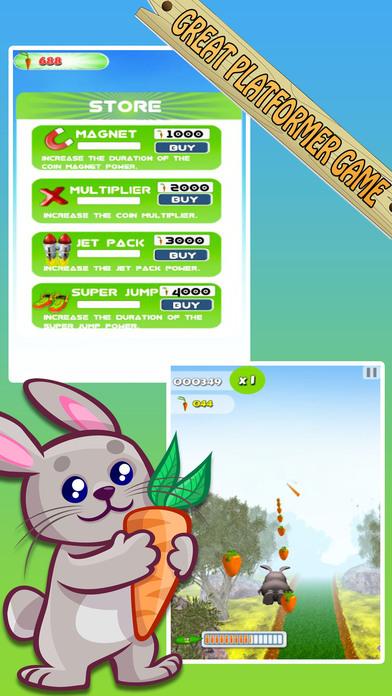 Bunny Jungle Run Adventure screenshot 4