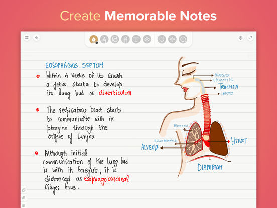 Whink - Note taking, Annotate & Record Lectures Screenshots