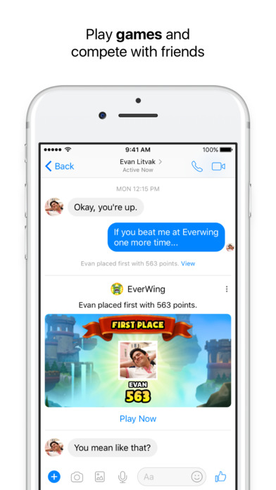 Screenshot #7 for Messenger