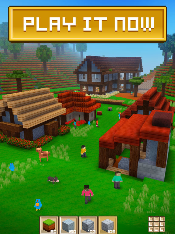 Block Craft 3D: Building Simulation Gamescreeshot 1
