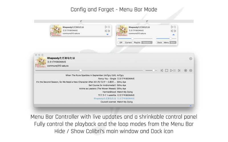 Colibri Screenshots