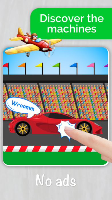 Cars,Planes,Ships! Puzzle Games for Toddlers. AmBa screenshot 2