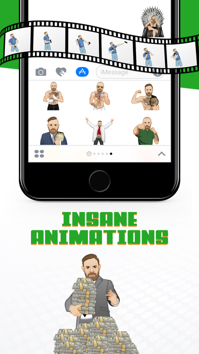 macmoji by conor mcgregor app report on mobile action