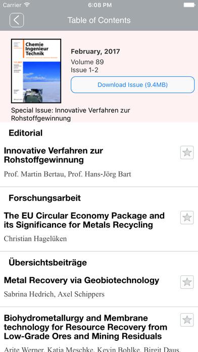 Chemie Ingenieur Technik screenshot 2