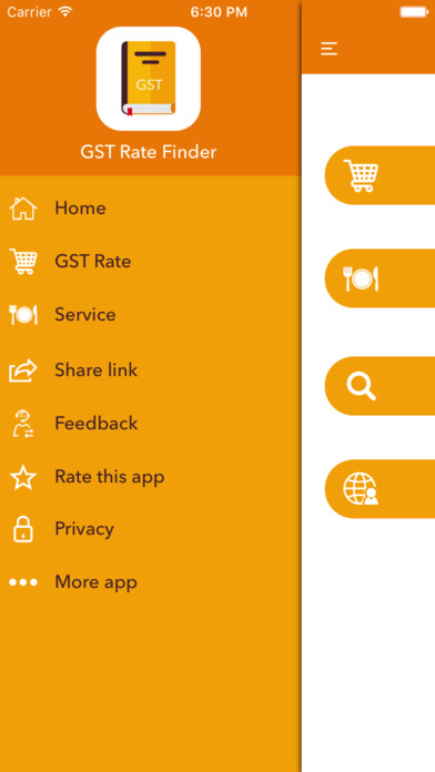 GST Rate Finder & GST News screenshot 2