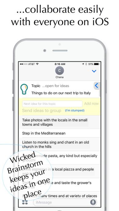 Wicked Brainstorm screenshot