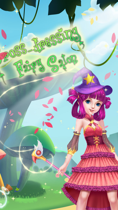 Screenshot 1 Faerie DressUp Salon