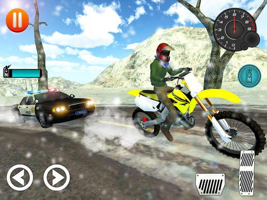 Extreme Offroad Bike Rider Stunts screenshot 7