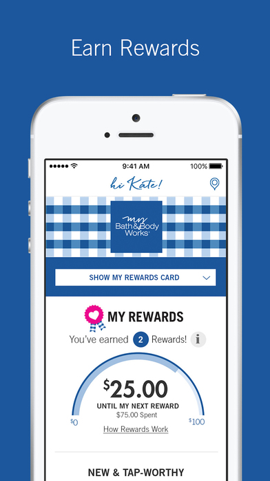 Sadly, the My Bath & Body Works App is currently in beta and the test markets are LA and Chicago! Lucky you if you live in either city. I'm in New York and no go for me but I downloaded the app and signed up to be alerted when it is available in my area as it is attached to the new Bath & Body Rewards Program which I'm curious about.