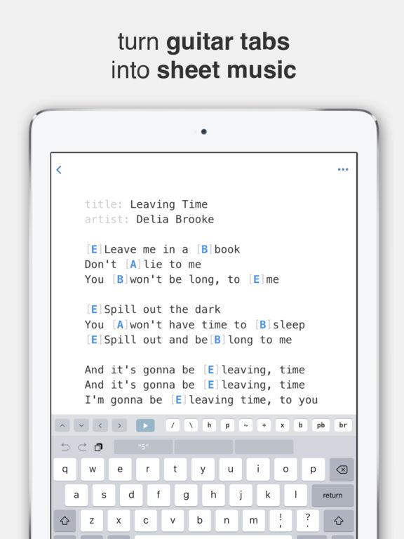 Sheet Music Readers For iPad