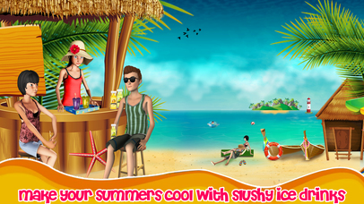 Fun Island Beach Sweet Slush Maker screenshot 1