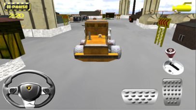 Heavy Crane Parking Simulator screenshot 1