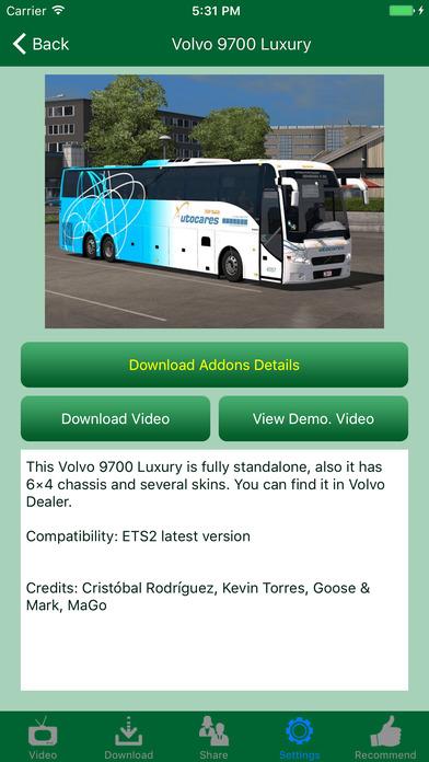 Truck design addons for euro truck simulator 2 app for Truck design app