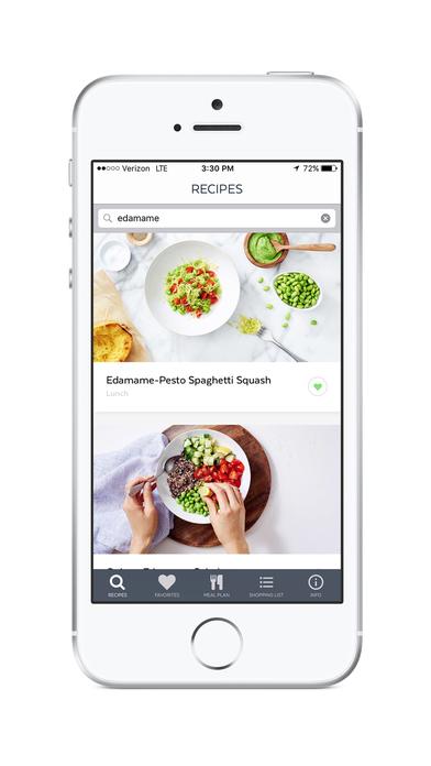 Clean-Eating Plan and Recipes Screenshot 2