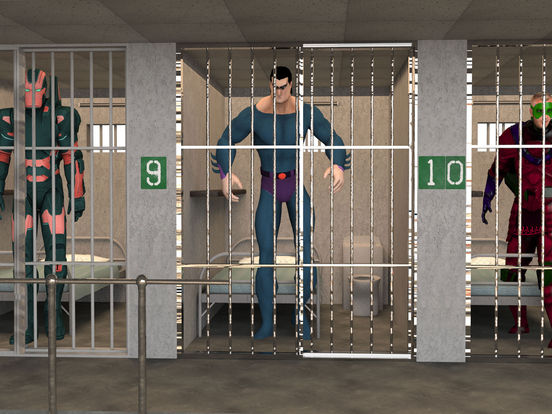 Incredible Monster Prison: Superhero Escape screenshot 6