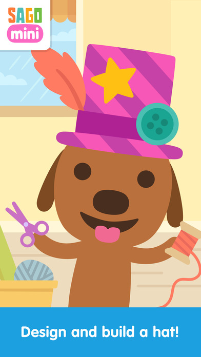 Sago Mini Hat Maker screenshot 1