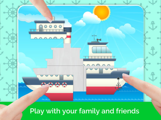 Cars,Planes,Ships! Puzzle Games for Toddlers. AmBa screenshot 8