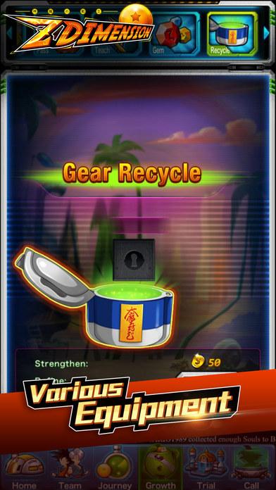 Z Dimension Saga screenshot 1