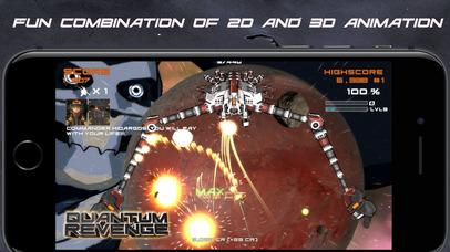 Quantum Revenge Lite screenshot 1