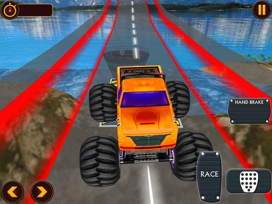 Top Monster Truck: Offroad Challenge Race screenshot 9