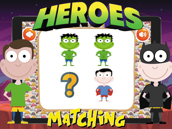 Super Heroes Card Matching screenshot 7