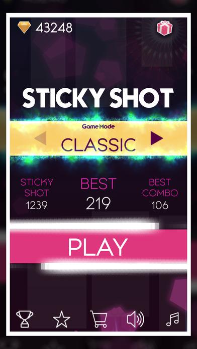 Sticky Shots - Shoot it to Play screenshot