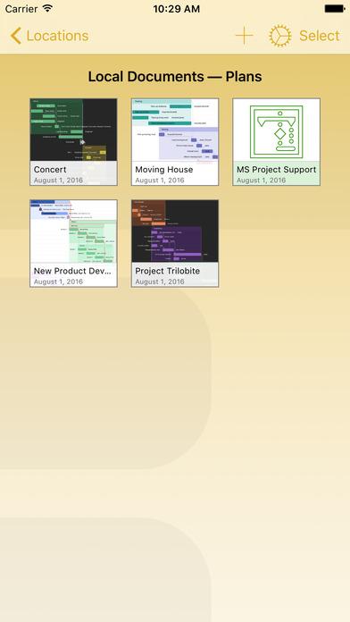 OmniPlan 3 Screenshot