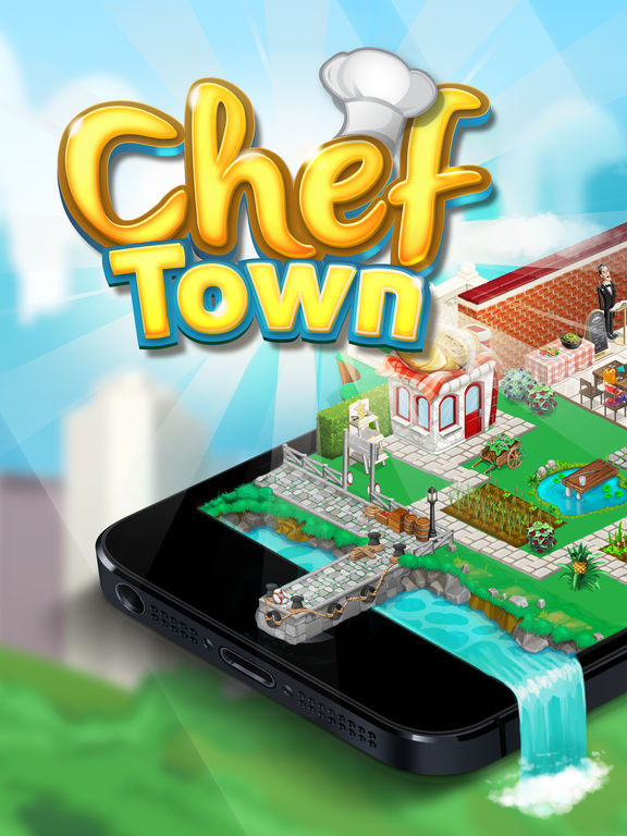 Screenshots of Chef Town: Cooking Simulation for iPad