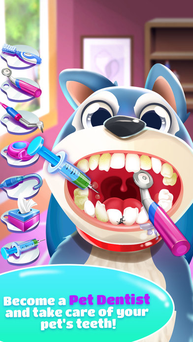 Pet Dentist Doctor Game! screenshot 1