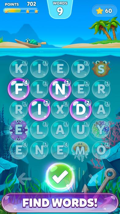 Bubble Words - Letter Splash Screenshot