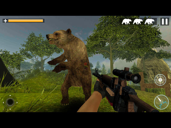 Bear Jungle Attack screenshot 7