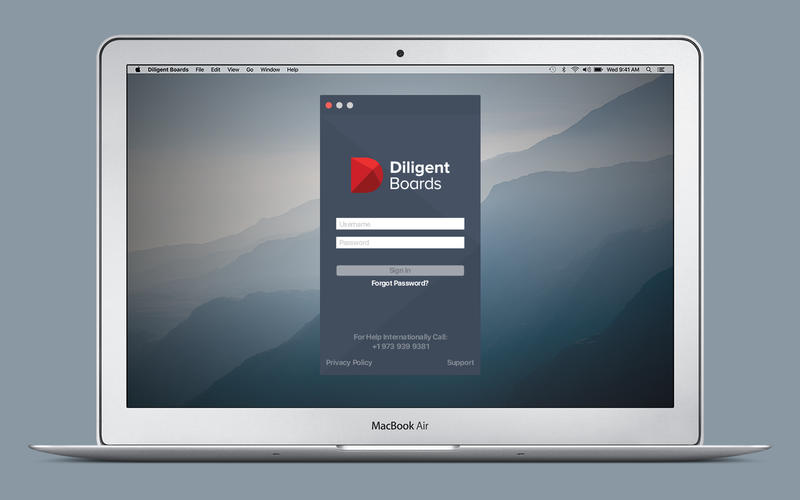 Diligent Boards for Mac
