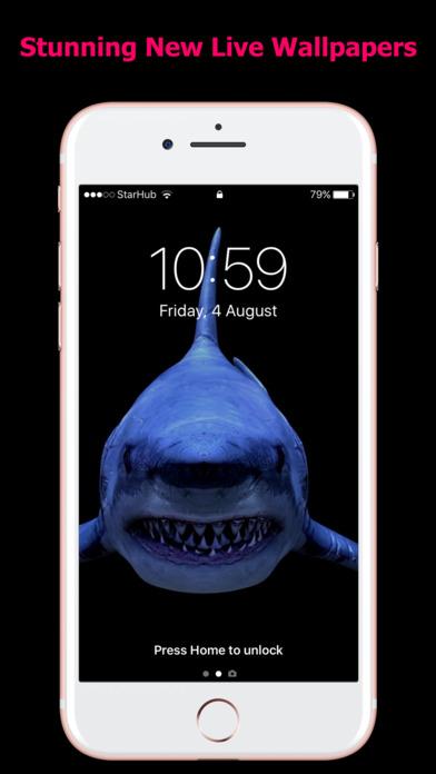 HD Live Wallpapers for iPhones screenshot 2