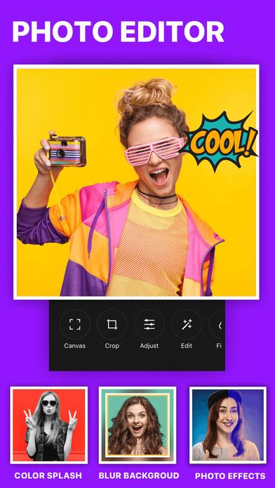 Instazz Pro Photo Editor No Crop Insta-size Layout Screenshots