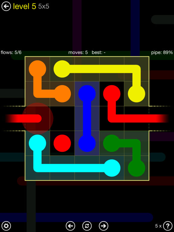 Flow Free: Warps screenshot 6