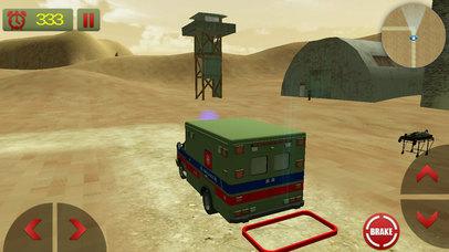 US Army Ambulance Rescue Game screenshot 3