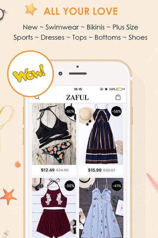Zaful screenshot 3